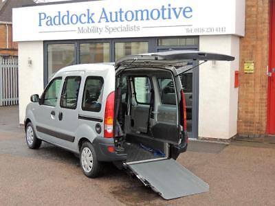 Renault Kangoo 1.6 Authentique Automatic Disabled Wheelchair Adapted Vehicle WAV