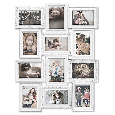 J&M* 4-18PCS MULTIPLE Family Photo Collage Frames Hanging Wall Decor ...