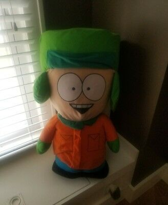 "New w/ Tags South Park Kyle Large 31"" Plush Doll 2008 Nanco Comedy Central Rare!"