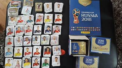 Panini FIFA World Cup Russia 2018 Football Loose Stickers Choose Bundle Quantity