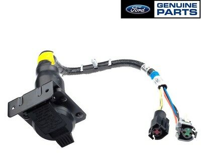 OEM NEW 7 Pin Trailer Towing Connector Wiring oem new 7 pin trailer towing connector wiring harness f series f6tz