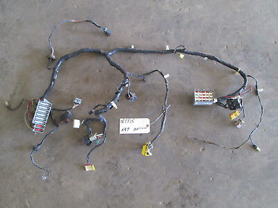 98 Jeep Wrangler Firewall Dash Front Body Harness Fuse Box #56009509