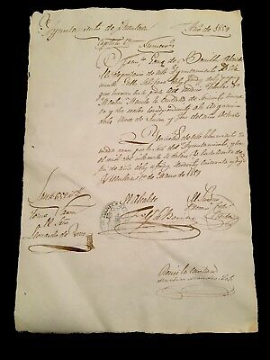 Document In Spanish 1859
