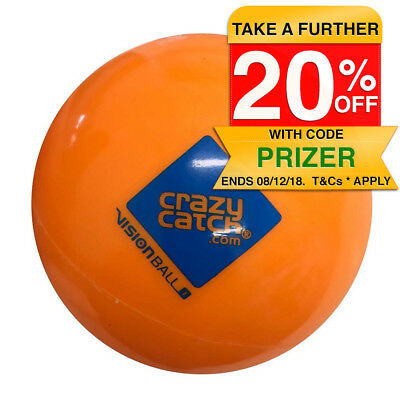Crazy Catch Vision Ball Level 1 Sports/Training for Catch/Throw/Kick Orange