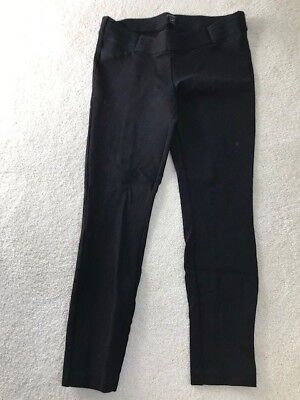 J. CREW Maternity Collection Minnie Black Cropped Stretch Pant, Size 6 Short