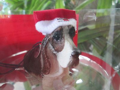 Basset Hound Dog Christmas Ornament Designed by Tommy Hilfiger For Macy's Rare