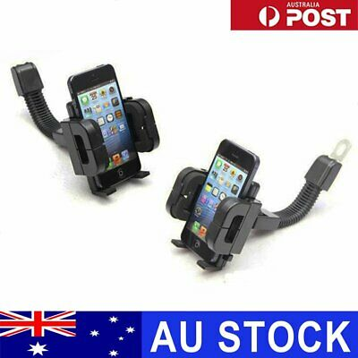 Universal Adjustable Motorcycle Scooter Mount Holder Stand For Cell Phone GPS AU