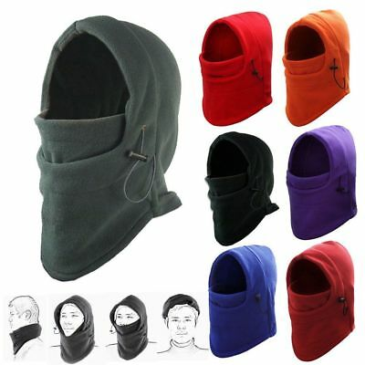 Balaclava Face Mask Motorbike Motorcycle Ninja Ski Under Helmet Neck Warmer Hat