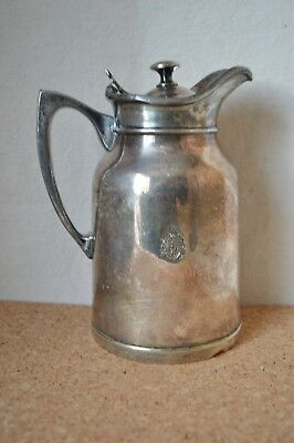 Vintage Thermos Stronglas Carafe Themal Bottle Pitcher w/ Coat Of Arms Canada