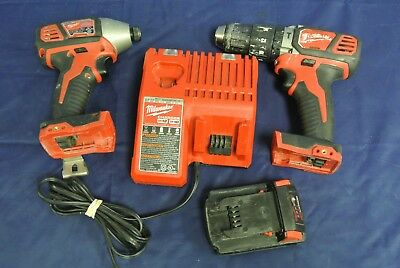 Milwaukee Impact- 2656-20 & Drill-2607-20 18V Combo Kit ( 78558-1 H )*