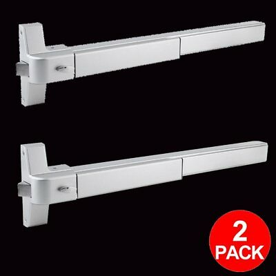 2pack Door Push Bar Panic Bar Exit Device Heavy Duty Commercial Grade NEW BT