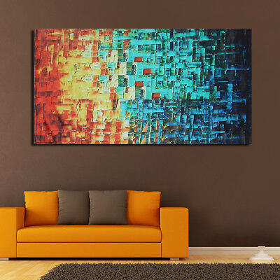 Large Modern Abstract Wall Art Canvas Oil painting Picture Unframed Home Décor