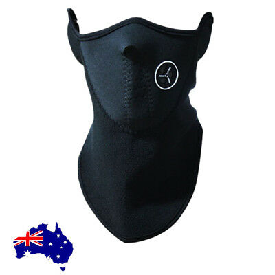 2X Motorcycle Snowboard Ski Bike Cycling Half Face Mask Neck Warmer Cover Mask