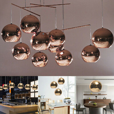 7 sizes glass mirror ball ceiling pendant light modern tom dixon 7 sizes glass mirror ball ceiling pendant light modern tom dixon lamp chandelier aloadofball Choice Image