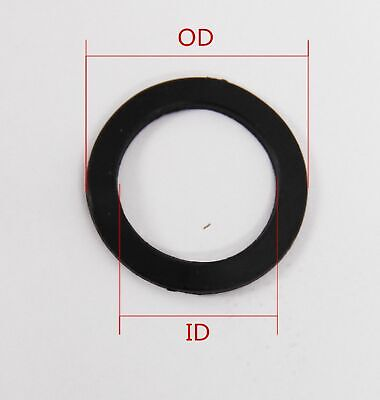 Select Size ID 95mm - 100mm Black KFM O-Ring Gaskets Washer 1mm Thick [DORL_A]