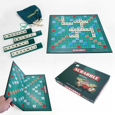 Scrabble Original Board Game Mattel Kids Boys Girls Gift Family Adult Party Game