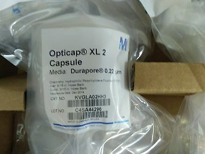 Millipore Opticap-XL2 Durapore 0.22um Cat no KVGLA02HH3