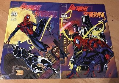 Spider-Man Backlash  #1-2 Marvel Comics Nm