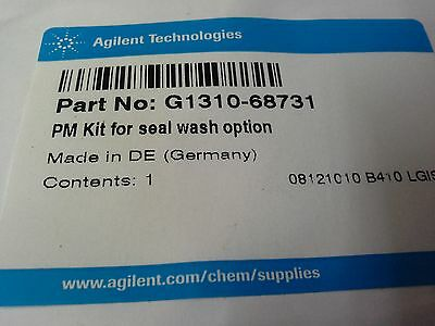 Agilent Hplc & Gc Spares G1310-68730,0100-1516,g1313-68709  And Others See Descr
