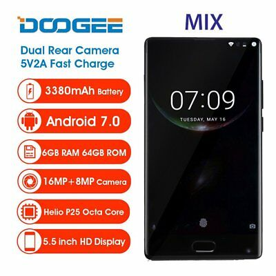 6GB+64GB 5.5''Android 7.0 4G SmartphoneHandy DOOGEE MIX Octa Core 2.5GHz DTOUCH