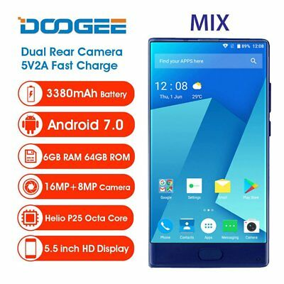 5.5 ZOLL 4G Smartphone DOOGEE MIX 6GB+64GB Octa Core DTOUCH Handy A-GPS 2.5GHz