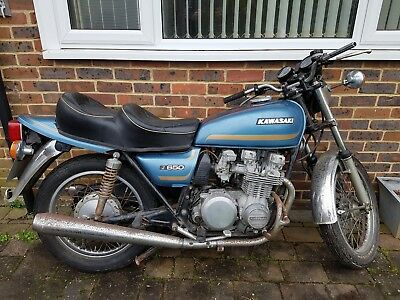 KAWASAKI Z650 B1 early 1977 classic garage find project non runner for  spares