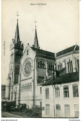 CPA-Carte postale  France- Eglise d'Euville (CPV1033)