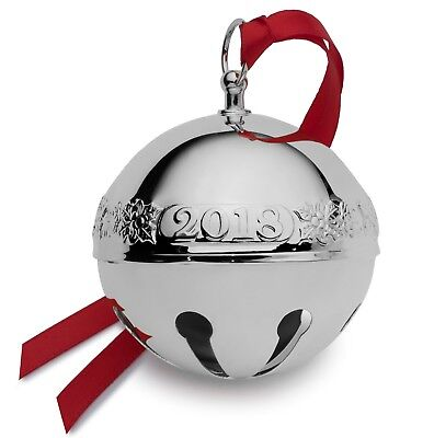 Wallace 2018Silver Plate Sleigh Bell (New)