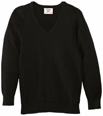 (TG. C44 IN- UK) Nero (Black) Charles Kirk Coolflow - Maglia jumper con collo a