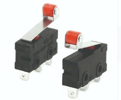 New 6 of Roller limit switch 125 volt 5 AMP 3D printer applications limiter