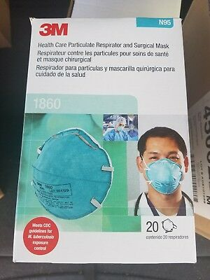 Wegwerpmaskers Case Expired N95-1860 Of 3m Respirator Particulate