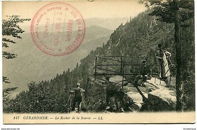 CPA-Carte postale  France-Gérardmer - Le Rocher de la Source (CPV1053)