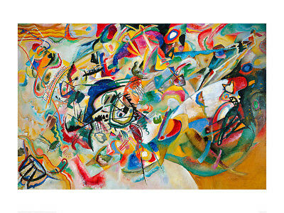 Composition VII - Wassily Kandinsky - Fine Art Giclee Print (Various Sizes)