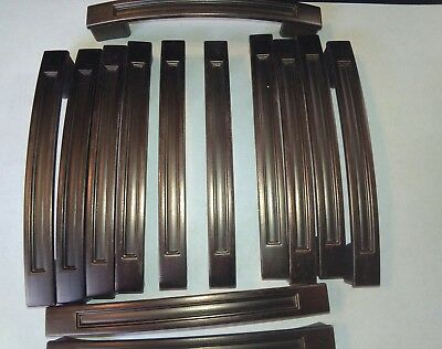 Set of 12 Copper Kichen Cabnet Handles with No Screws