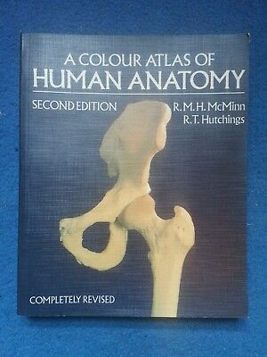 A Colour Atlas Of Human Anatomy Rmh Mcminn And Rt Hutchings Book