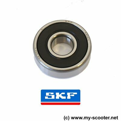 Piaggio SKF 6302 Lager 15-42-13 Kugellager Antriebswelle X7 X8 X9 MP3 Beverly ~