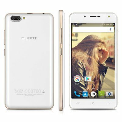 "5"" CUBOT Rainbow 2 Android 7.0 Dual Sim 13MP 3G Smartphone Quad Core 16GB Handy"