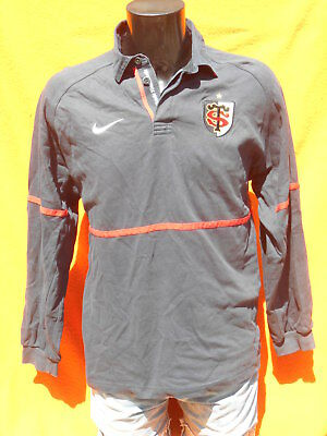 STADE TOULOUSAIN Maillot Jersey Nike True Vintage 90s Toulouse Rugby XV Top  14 904fa7a2814cb
