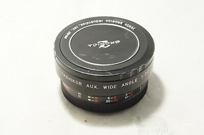 """Yashikor Aux. Wide Angle Converter F5.6 X707 for Yashica """"Great"""""""