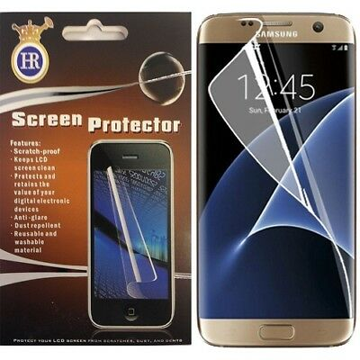 Premium Anti Shock Clear Full Screen Protector For Samsung Galaxy S7 Edge