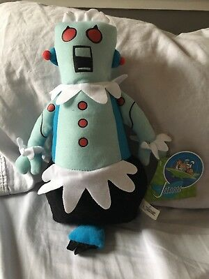 """The Jetsons ROSIE the ROBOT 13""""Plush Doll stuffed, NWT. Rare Collectors"""