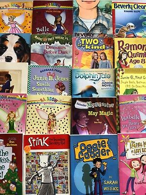 Lot of 15 GIRL chapter books RANDOM Children's Youth Early Readers Home school