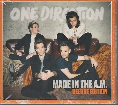 SEALED - One Direction NEW CD Made In The A.M. DELUXE EDITION Bonus Tracks!!!