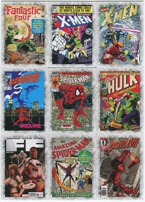 2012 Upper Deck Marvel Beginnings III Breakthrough Issues 45-Card Insert Set