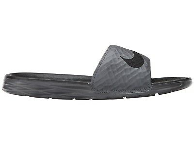 Nike Men`s Benassi Solarsoft Sport Sandal Black Grey