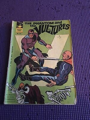 The Phantom And The Vultures Comic 1970s