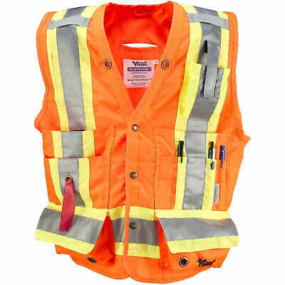X-Large Orange Viking Class 2 Surveyor Safety Vest