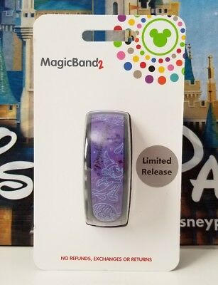 NEW Disney Parks 2017 Purple Sorcerer Magicband Magic band Link It Later LE
