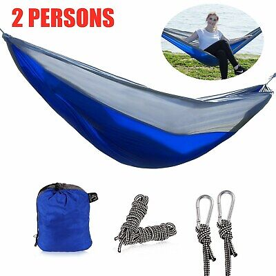 REDCAMP Nylon Single Hammock for Camping Backpacking Lightweight and Portable