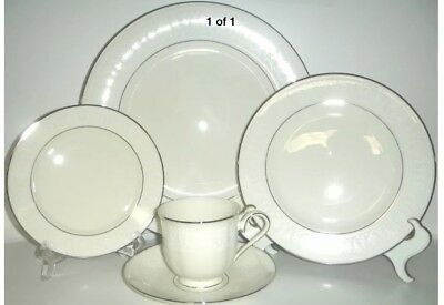 LENOX HANNAH PLATINUM 5 Piece Place Setting New In Box - $45.99 ...